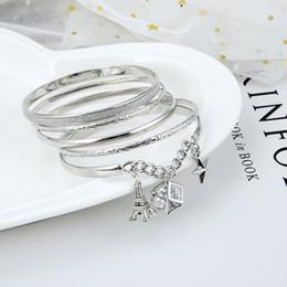 2019 bracelets en diamant à vendre Femmes Amour Designer Bijoux Bracelets De Luxe En Argent Plaqué Bracelet Bracelets Cristal Diamants Bracelets pour Cadeau Vente Chaude promotion bracelets en diamant à vendre