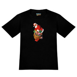 shrink toys Promo Codes - Christmas Holiday Santa and His Bag of Toys Men's Novelty T-Shirt fan pants t shirt fear cosplay liverpoott tshirt