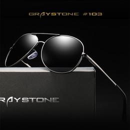 Canada Miroir flash lunettes de soleil polarisées pour hommes femmes marque Designer lunettes de soleil pilote vision nocturne grenouille miroir conduite lunettes de protection Offre