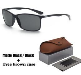 Neue design-brille online-2019 neue sonnenbrille frauen männer markendesign tr90 rahmen sport fahren brille mode brille uv400 brillen oculos de sol mit fällen und box