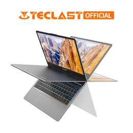 teclast touch screen Sconti Teclast Notebook 11.6 pollici Win 10 8GB DDR4 128 GB SSD Intel Gemini Lake N3450 Touch Screen a 360 gradi per laptop con cerniera