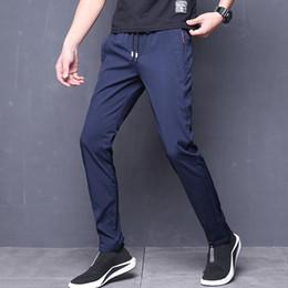 Homme Formel Business Chino Robe Pantalon Coupe Straight-Leg Jeans Pantalon Skinny