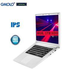 2gb ram 8gb bluetooth hdmi Sconti 15.6 pollici 8 GB di RAM 1TB HDD ultrabook Celeron J3455 Quad core 1920 * 1080 IPS schermo USB 3.0 computer portatili da gioco HDMI