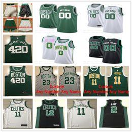 637b83876ad Discount bill russell jersey - Printed 2019 New Boston 5 Garnett 33 Larry  32 McHale 00