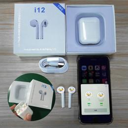 Argentina i12 TWS oído Control táctil Mini auriculares inalámbricos Bluetooth pods de auriculares de aire para iphone x teléfono inteligente xiaom auriculares casque auriculares Suministro