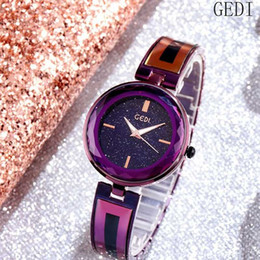 orologi stella rossa Sconti Nuovo orologio da donna Star Network rosso con lo stesso paragrafo Moda semplice impermeabile bracciale cinturino orologio da donna