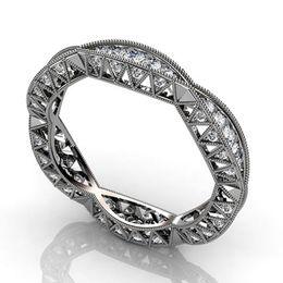 brautverlobungsring Rabatt YOBEST Mode-Ringe für Frauen Schmucksache-einfacher Entwurfs-Quadrat-Brauthochzeits-Verlobungsring Bijoux