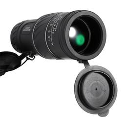 2019 visión nocturna película verde Telescopio monocular Clarity HD Vision al aire libre Telescopio monocular Visión nocturna de bajo nivel Telescopio de óptica verde visión nocturna película verde baratos