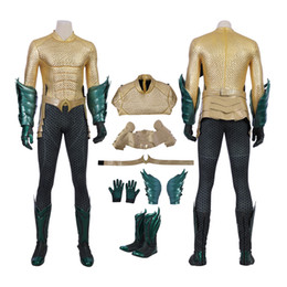 Costume aquaman en Ligne-Aquaman Costume Aquaman Cosplay Arthur Curry Full Set