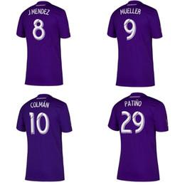 Orlando fußball jersey online-2019 20 Orlando Soccer Trikots MUELLER KAKA DWYER MENDEZ PATINO Heimfussball Hemden Uniformen Fußballkleidung