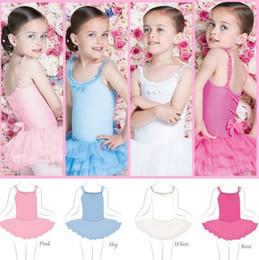 Dans Elbiseler Çocuklar Bale Etekler Kolsuz Dantel Tutu Romper Elbise Bebek Sling Giyim Yaz Çocuk Giyim 4 Tasarımlar Toptan YW2953 nereden