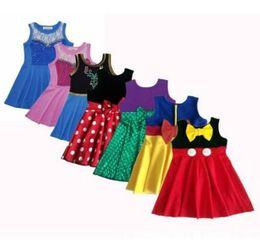 Canada Vêtements pour filles robe de princesse Vêtements pour enfants, robes d'anniversaire robe de costume de sirène princesse Party Cosplay robe d'été KKA6854 Offre