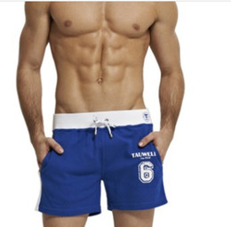 white gym athletic shorts Coupons - Wholesale- JOCKMAIL brand clothing cotton Men's Jogger Short Athletic Men's Sport Running shorts Summer Elastic Waist Gym Shorts