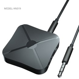 Адаптер динамика bluetooth для аудио онлайн-KN319 2 В 1 Bluetooth Передатчик Приемник 3.5 мм Беспроводной Адаптер Bluetooth 4.2 Стерео Аудио Dongle Для ТВ Автомобильные / Домашние Колонки 200 шт.