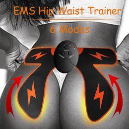 Massage du cul en Ligne-Ménage EMS Smart Hip Trainer Hanches Muscle Vibrant Ass Constructeur Électrique Stimulateur Musculaire Fitness Fesses Machine De Massage