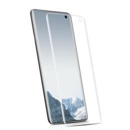 2019 filme completo grátis 2019 novo Samsung S10 S10 E S10 Plus impressão de seda Cobertura Completa 3D curvo PET Filme de tela Macia Flexível com frete grátis filme completo grátis barato