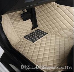 esteras de hyundai Rebajas pie de coches en 3D Mats cuero de lujo tapetes para TOYOTA BMW BENZ Mazda CX-5 3 Ford Hyundai crucero de la tierra Volkswagen Skoda Nissan # 556