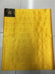 sego gele capo cravatte Sconti colori oro, ultimo design, cravatta testa sega gele headties africana, involucro Gele, 2 pezzi / set, molti colori disponibili