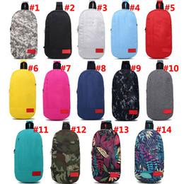 2019 sacchetti da viaggio Sacchetto di scuola unisex di viaggio delle borse di viaggio di borse a tracolla di Sup per gli adolescenti Pacchetto del petto adulto 14 colori Trasporto del DHL sconti sacchetti da viaggio