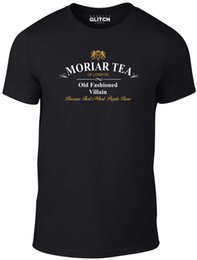 green tea men Coupons - Mens Moriar Tea T-Shirt - Moriarty Sherlock Holmes Cumberbatch Baker Street Fashion Style Men Tee custom printed tshirt