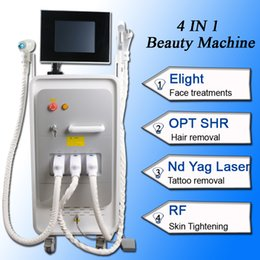 rf lifting equipment Coupons - OPT SHR + RF + Nd Yag laser beauty machine laser hair removal equipment SHR hair removal machine ndyag laser tattoo removal equipment