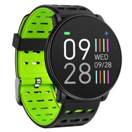 braccialetti nuovi prodotti Sconti Nuovo prodotto Q88 smart watch 1.3 schermo a colori frequenza cardiaca monitoraggio della pressione sanguigna monitoraggio Bluetooth braccialetto intelligente