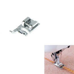 sewing machine foot feet accessory Coupons - 1Pc sewing machine parts presser foot 3 Way Cording Foot Sewing Accessories Compatible With Brother,Janome,Singer