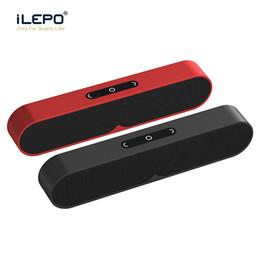 2019 radio bluetooth laptop Altavoces estéreo Bluetooth F1 PLUS altavoz inalámbrico portátil Sistema de sonido 3D Tarjeta TF de la ayuda Bluetooth Surround AUX