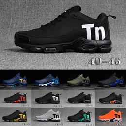 huge discount f43a3 0d42b Tn MERCURIAL KPU Running Shoes Designer Men Tn Trainers Sports Luxury  Sneakers Plus TN Ultra SE TPU Black Outdoor Air Athletic Jogging Shoes
