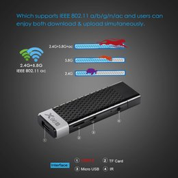 X96S 4K TV Stick 4GB 32GB Amlogic S905Y2 Android 8.1 Quad Core 2.4G / 5GHz Dual Wifi BT4.2 1080P 4K TV Dongle desde fabricantes