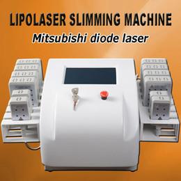 lipólisis láser diodo Rebajas Máquina de lipólisis láser diodo láser lipo lipólisis láser que adelgaza el cuerpo que adelgaza el sistema de la máquina para uso en el hogar
