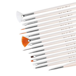 15pcs nail art painting pen brush Promo Codes - brush for manicure Fengshangmei 15pcs Brush for Manicure Nail Beauty Design Tools Set Nail Art Painting Pen