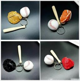 Encantos de dibujos animados del teléfono celular online-Nuevos juguetes de la novedad Béisbol Softbol Baloncesto Llavero Charm Cadena Colgante Bolsas de teléfono celular Llaveros