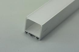 große led-streifen Rabatt Super Profil der Breiten-35mm LED Aluminiumverdrängungs-Oberflächen-LED Aluminiumkanal-1 Meter (39.4inch) LED Freies Verschiffen durch DHL