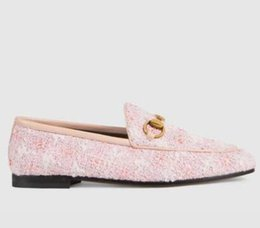 2020 hebilla de cuero mocasín mujer mocasines de cuero de lujo de la mujer diseñador de moda zapatos Muller con la hebilla mujeres de la manera sandalias Princetown casual de las señoras mulas Pisos s01 rebajas hebilla de cuero mocasín mujer