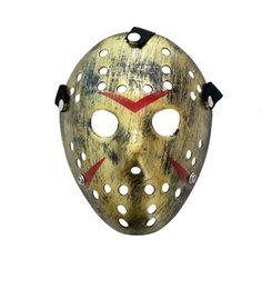 Viernes 13 máscaras online-1 pieza New Jason vs Friday The 13th Horror Hockey Cosplay Disfraz Halloween Killer Masquerade Máscara Máscara de Halloween