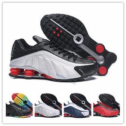 794d1218 nike air max shox Venta al por mayor shox zapatillas para hombre diseñador  DELIVER OZ R4 Avenue chaussure homme Zapatillas deportivas Scarpe zapatillas  ...