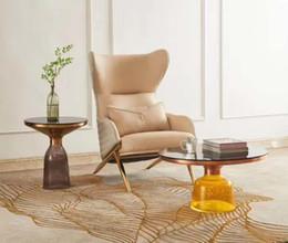 Madeira maciça antiga on-line-Antiguidade simples negociação criativa cadeira sala de estar YUTU cadeira de jantar de lazer em casa de volta sólida mesa de madeira do livro e cadeira