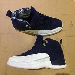 2019 Jumpman 12 Uluslararası Uçuş 12 s Tokyo Japonya Adam Basketbol Ayakkabıları Fiber Retro Sneakers Ayakkabı nereden