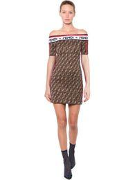 Короткие плотные стили одежды онлайн-Женское F-образное плоское платье с открытыми плечами с короткими рукавами и плотной юбкой Skinny Bodycon Summer Party Club Повседневные платья в стиле звезды C42410