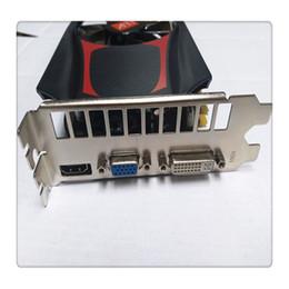juegos de video de alta Rebajas Tarjeta gráfica de juego independiente HD7670 4 GB DDR5 128 Bit PCI Express Durable Juego Tarjeta gráfica de video Venta caliente de alta calidad