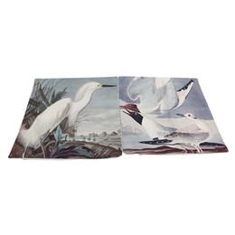 2020 decorazioni di uccelli volanti Federe in cotone e lino federe volanti stampa digitale biancheria federa divano decorazione della casa tiro federa federa sconti decorazioni di uccelli volanti