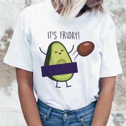 grunge t shirt Rabatt Avocado T Shirt Kleidung Grunge männlich Femme Kawaii T-shirt der 90er Jahre Top Ulzzang Grafik T-Shirt Tshirt Harajuku neue Damenmode