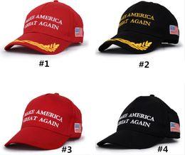 poncho de ganchillo mantón Rebajas Hacer Carta América grande otra vez sombrero Donald Trump republicano Snapback de las gorras de béisbol Deportes EE.UU. Cap Moda para mujer para hombre de la bandera