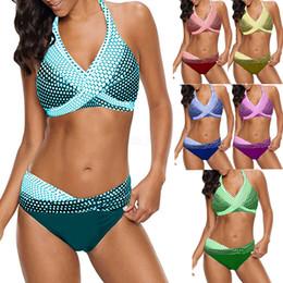 Trajes de sirena para mujer sexy online-Las mujeres de la sirena diseñador Bikini Set traje de baño más el tamaño Maillot De Bain traje de baño traje sexy Da Bagno Donna ropa de playa Tankini LJJA2451