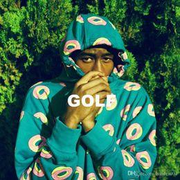 2019 krapfen-sweatshirt 18ss Odd Future Golf Wang Donut Blau Hoodies Kapuzenpullis Pullover Frühling Herbst Lässig Straße Paar Hoodies Outwear Hflswy193 rabatt krapfen-sweatshirt