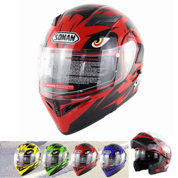 Doppellinsen-Motorradhelme mit austauschbaren Außenvisieren Modell K5 Klappbare Motorrad-Capacetes von Fabrikanten
