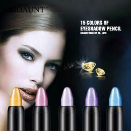 15 Renkler Fosforlu Göz Farı Kalem Su Geçirmez Glitter Göz Farı Kalemler Mat Göz Kalemi Kalemler Güzellik Makyaj Araçları cheap eyeshadow pens nereden göz farı kalemleri tedarikçiler