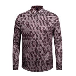 formale langarmshirtsentwurf Rabatt Frühling und Herbst 2019 medusa Men Shirt Langarm Print Herren Hemden Formelle Hemden Designs Social Masculina Men Business Shirt