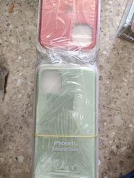 LOGO silicone casos originais para iphone 11 pro Max Silicone Líquido caso do iPhone For Cover 11 PRO Max com caixa de varejo têm de Fornecedores de telefones celulares coreanos bonitos